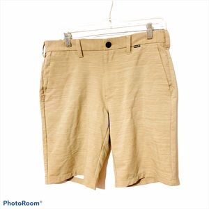 Hurley space dyed gold hiking shorts size 30 men's